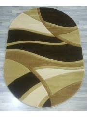 5938 OVAL BROWN
