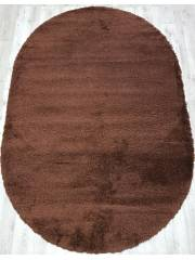 10013H OVAL BROWN / BROWN
